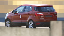 2018 Ford EcoSport spy photo