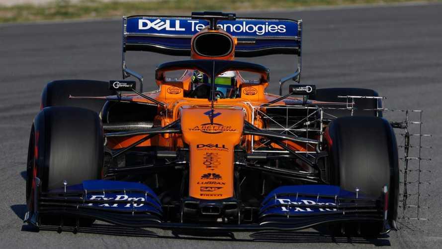 Test F1, McLaren in testa. Ferrari e Mercedes primi problemi
