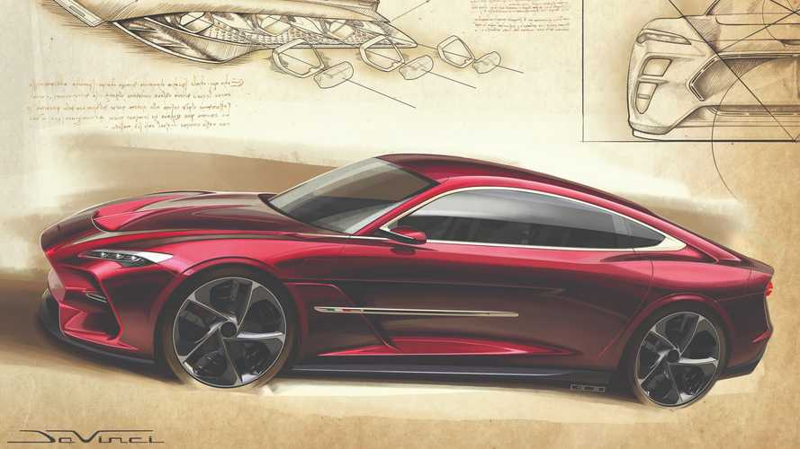 Italdesign DaVinci, il teaser della coupé prima di Ginevra