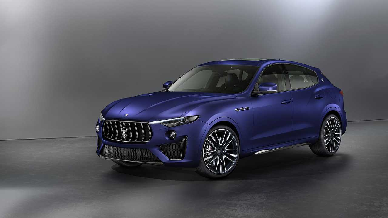 Maserati Levante Trophy Launch Edition