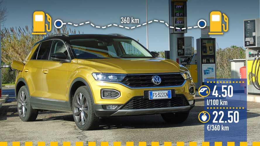 Volkswagen T-Roc 1.6 TDI: реальный расход топлива
