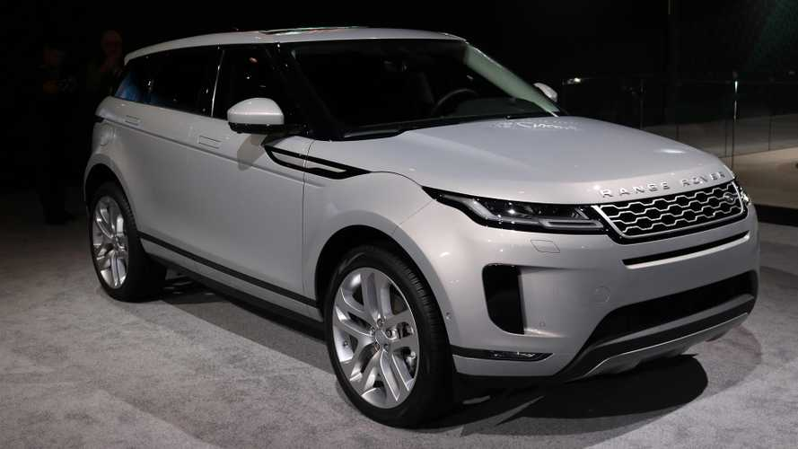 2020 Range Rover Evoque Brings Mild-Hybrid Power To Chicago [UPDATE]