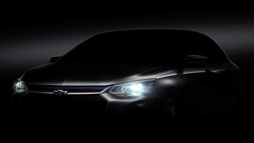 Novo Chevrolet Prisma aparece em primeiro teaser oficial