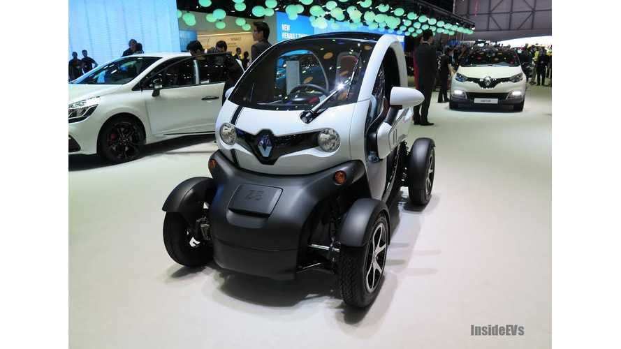 Renault Introduces New Twizy Battery Rental Service For Low-Mileage Drivers