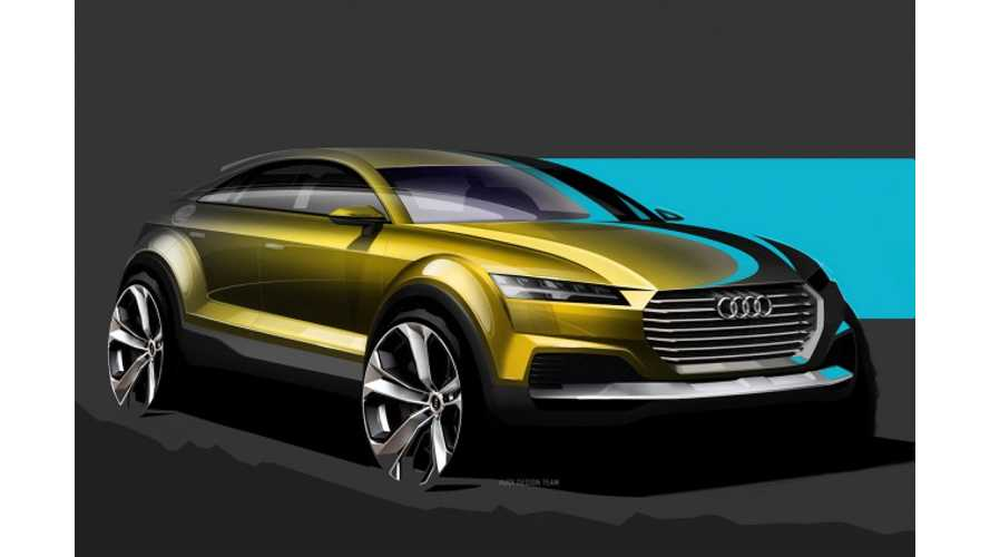 Sketches of Audi Q4 Plug-In Hybrid Concept Leak Out