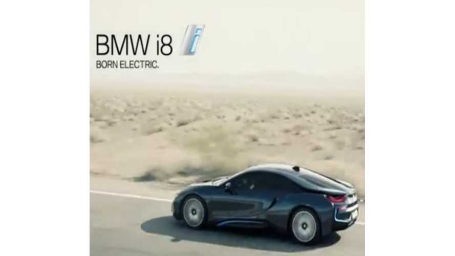 Trio Of BMW i8 Commercials