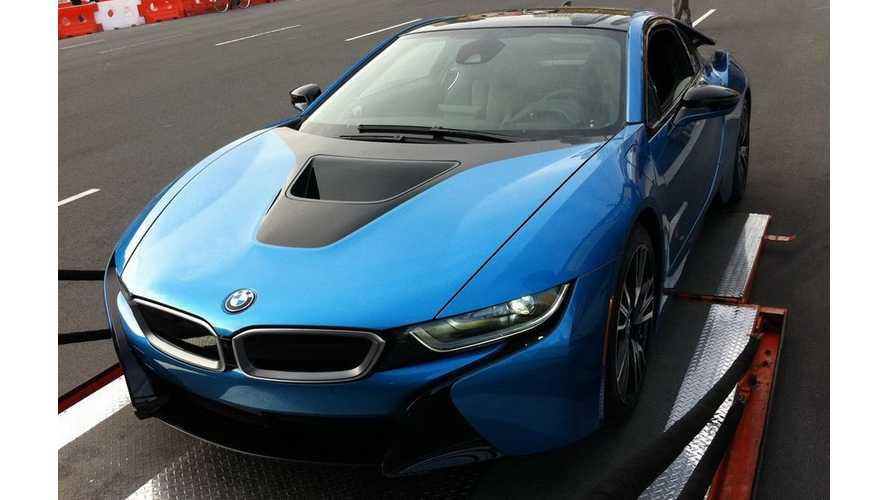 BMW i8 Arrives In New York City