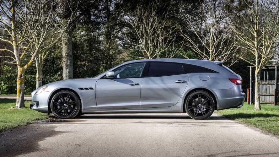 Une Maserati Quattroporte Shooting Brake unique est en vente