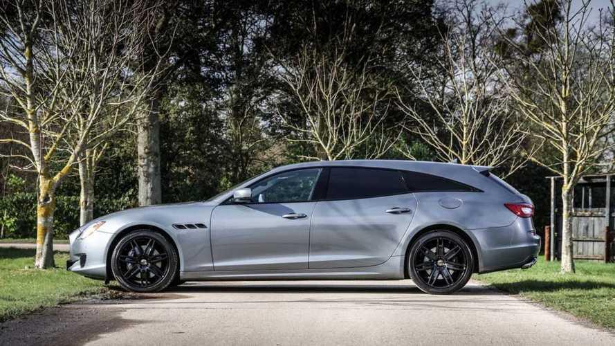 Maserati Quattroporte'nin özel üretim station wagon hâlini görün