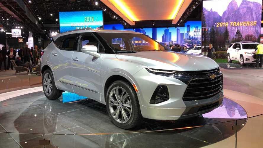 Chevrolet Blazer 2020 no Salão de Detroit