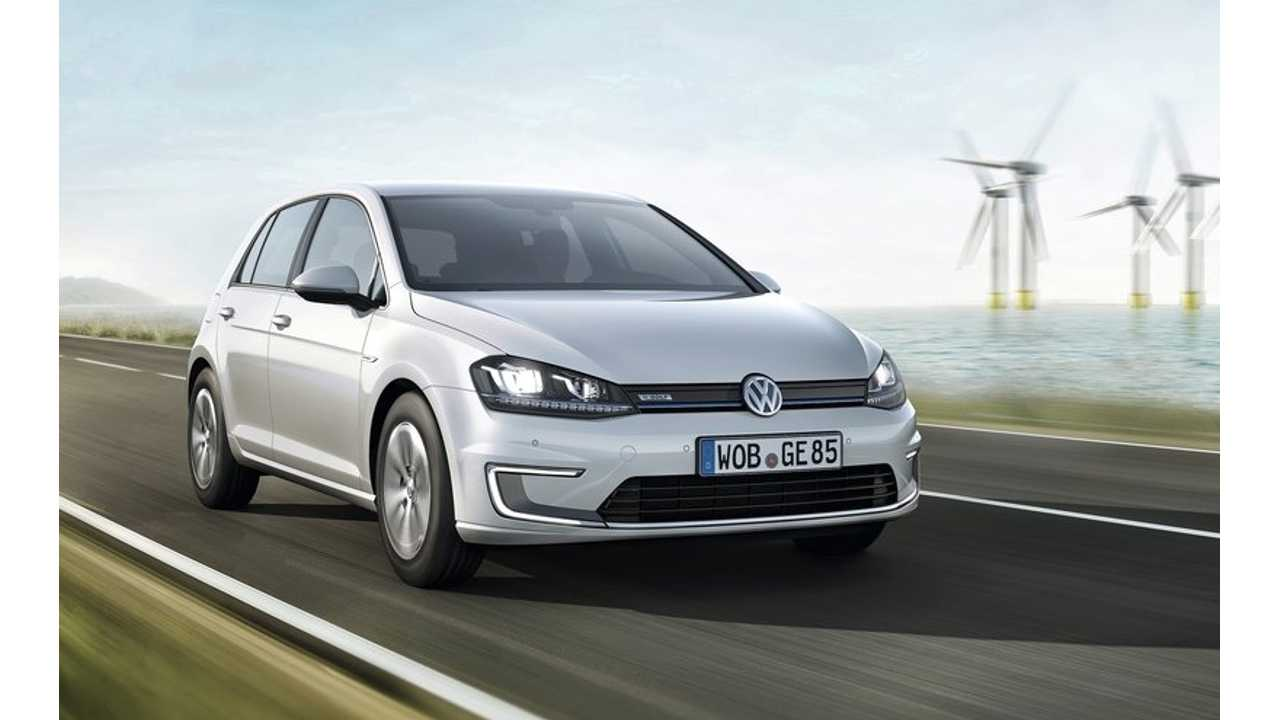 2015 Volkswagen e-Golf Debuts at Frankfurt Motor Show; Range Optimistically Listed at 118 Miles
