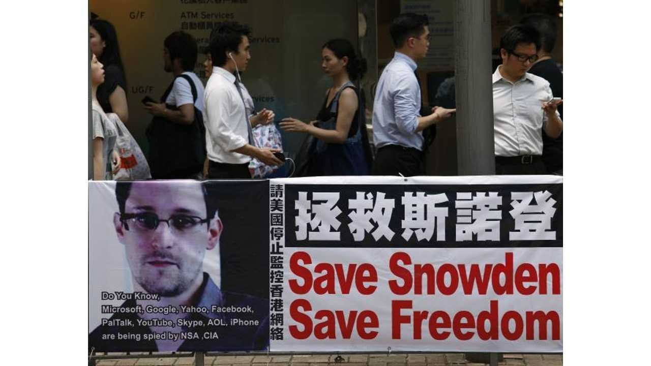 Electric Vehicle Firm in Beijing Registers Snowden Name for its Top Secret Breakthrough Technology