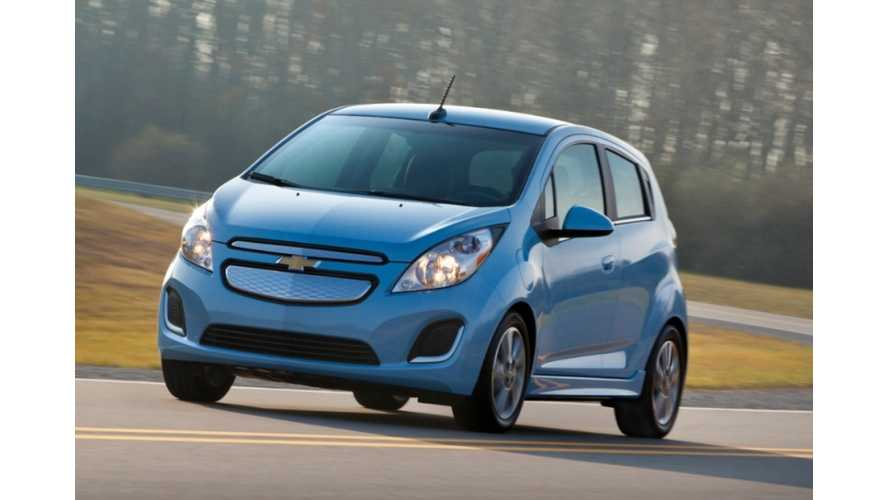 Chevy Spark EV Feels Right at Home on Willow Springs Raceway