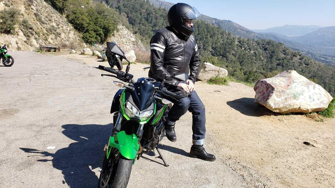Jason on Palomar Mountain