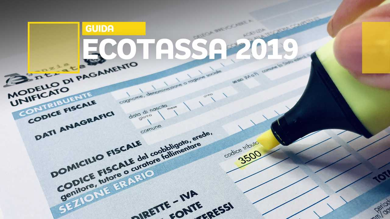 Copertina Ecotassa 2019