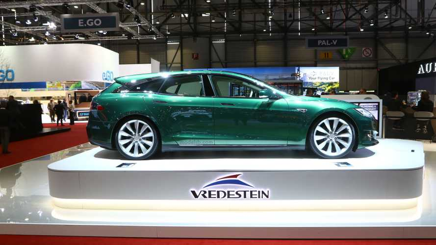 La Tesla Model S Shooting Brake de RemetzCar s'expose à Genève