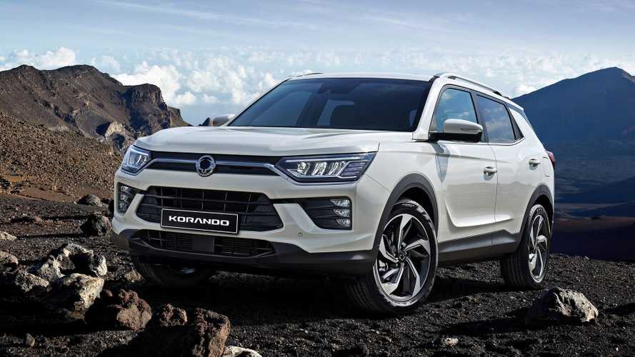Ssangyong Korando Revealed With Electric Version In The Cards