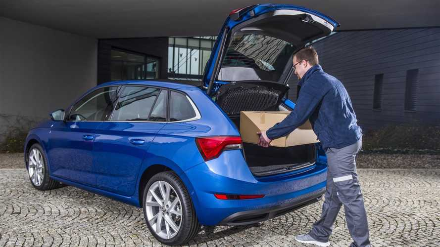 Skoda trials scheme that turns cars into letterboxes