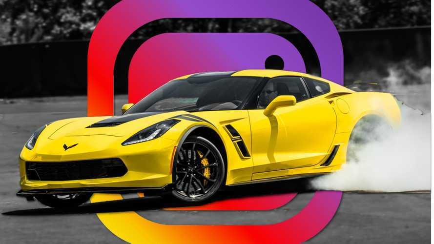 Estos son los coches más compartidos en Instagram