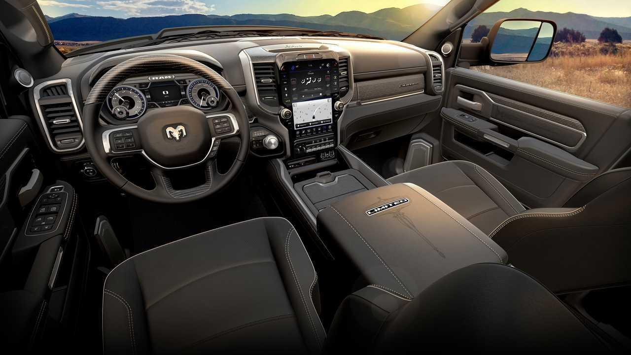 2019 Ram Chassis Cab Interior