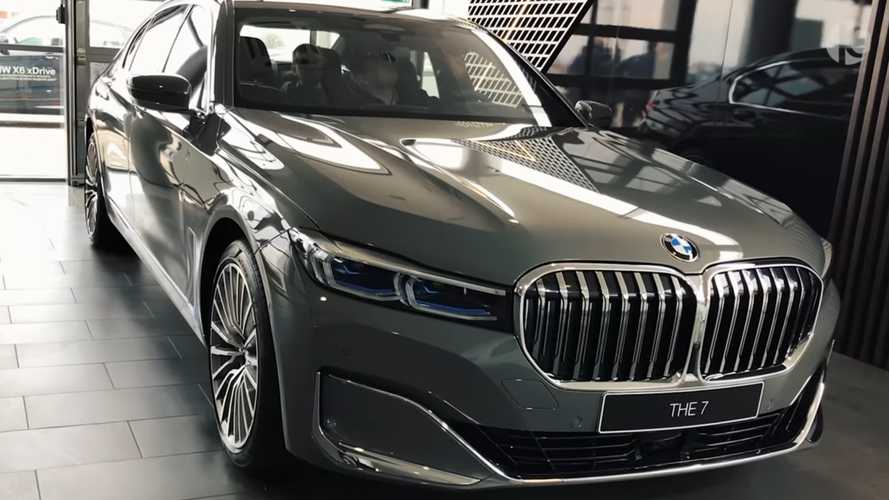 2020 BMW 7 Series looks stylish in walkaround video