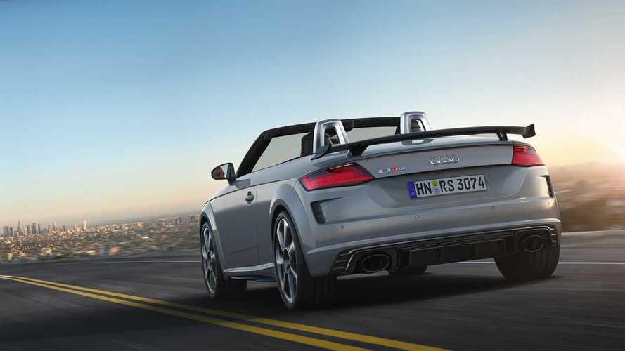 Audi TTRS Coupé y Roadster 2019, imagen más impactante