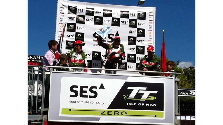 Michael Rutter on MotoCzysz E1pc Wins 2013 SES TT Zero Race on the Isle of Man (w/loads of videos)