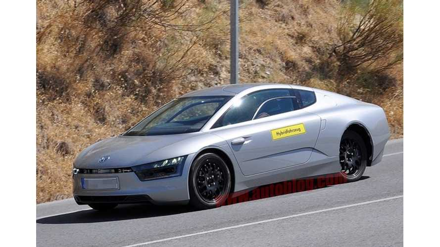 Volkswagen XL1 Could Lead to Meaner, Sportier and Cheaper Porsche 911-Beating VW XR1