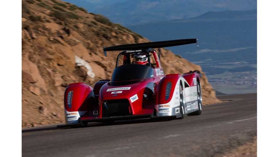 Mitsubishi MiEV Evolution II Impresses With Teaser From Pikes Peak (w/video)