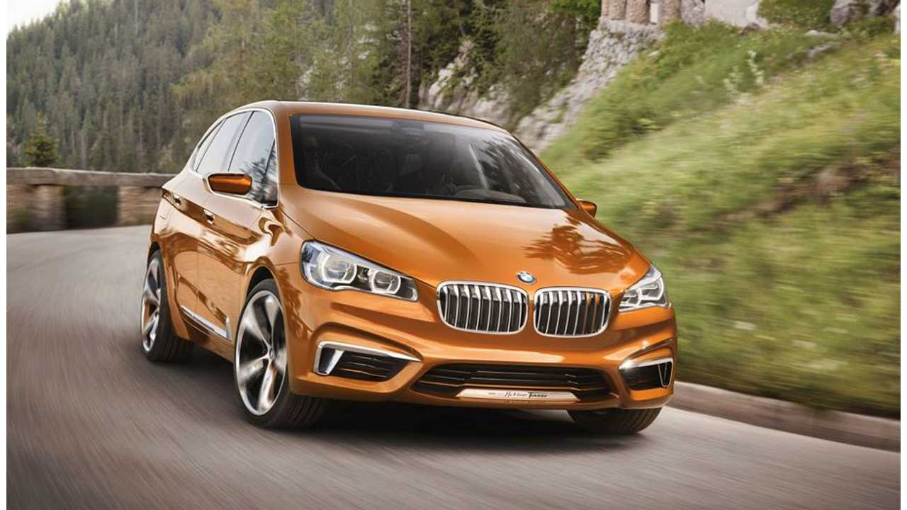 BMW Plug-In Hybrid Concept Active Tourer Outdoor Hints at Future Production 1-Series GT