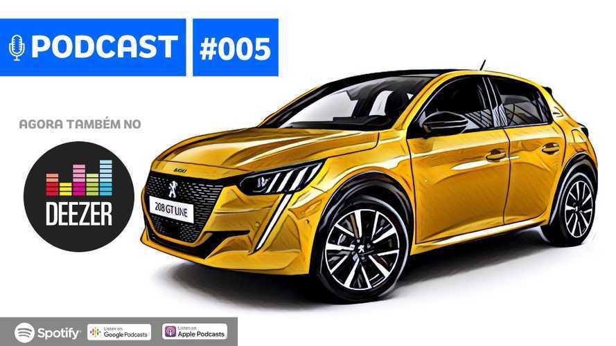 Motor1Cast #5: Novos Peugeot 208, Ferrari F8 Tributo, novidades da Nissan e mais