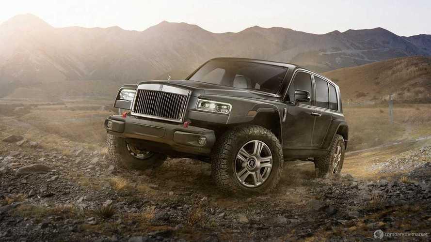 Rolls-Royce pick up, hatchback ve çok daha fazlası hayal edildi