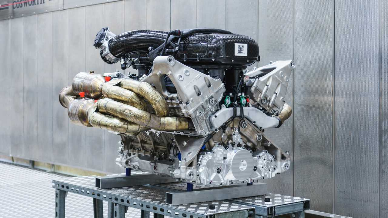 Aston Martin Valkyrie V12 engine