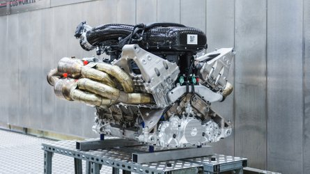 Aston Martin Valkyrie Reveals Its Glorious V12 Cosworth Engine