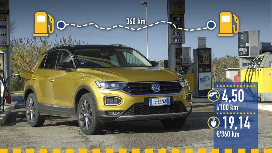 Volkswagen T-Roc 1.6 TDI: prueba de consumo real