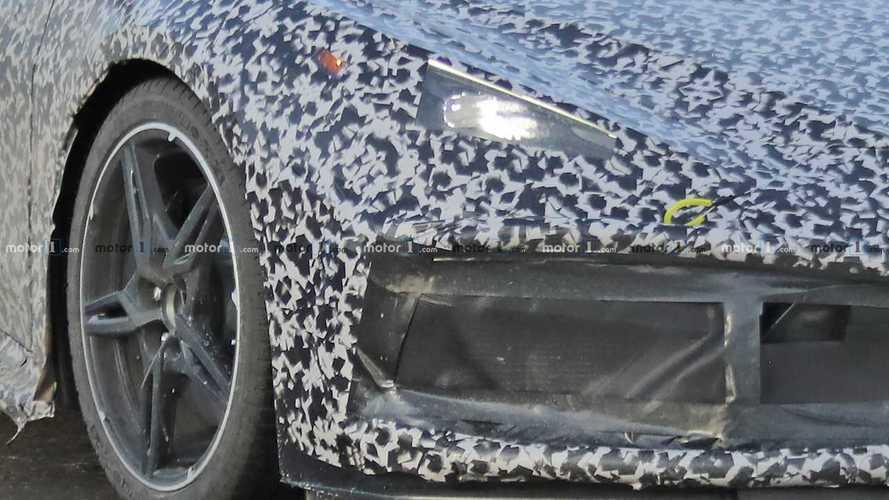 2020 Mid-Engined Corvette Spy Photos