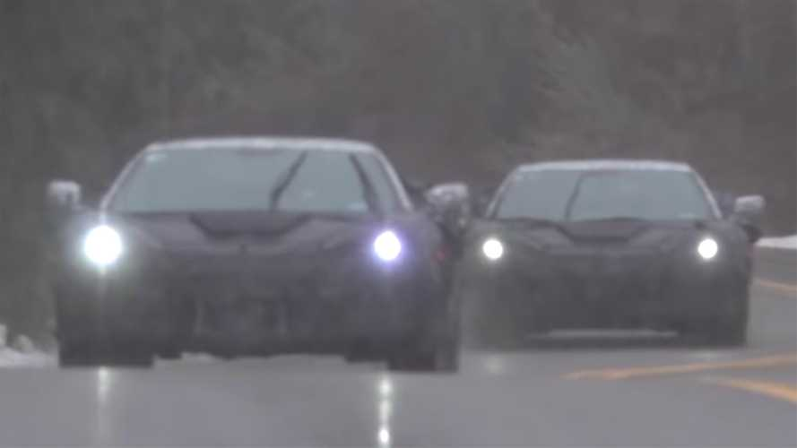 Armada Of Mid-Engined Chevy Corvettes Spied Testing In 5 Videos