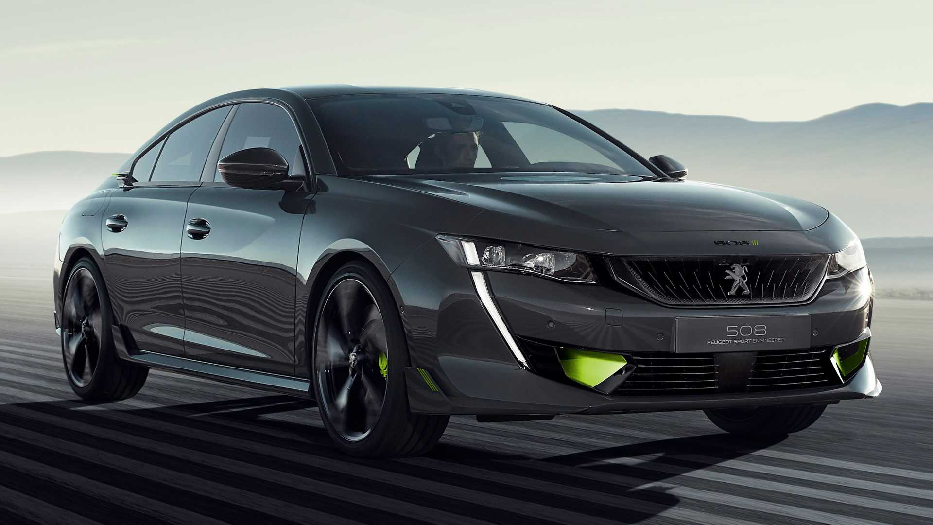 Concept 508 Peugeot Sport Engineered Debuts As 155 Mph Hybrid