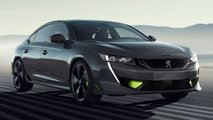 Concept 508 Peugeot Sport Engineered ist ein +400 PS Hybrid