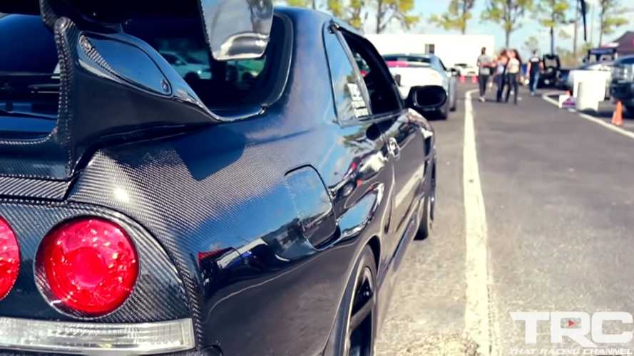 Watch: Tweaked Nissan Skyline R33 Churns Out 600HP For Fun