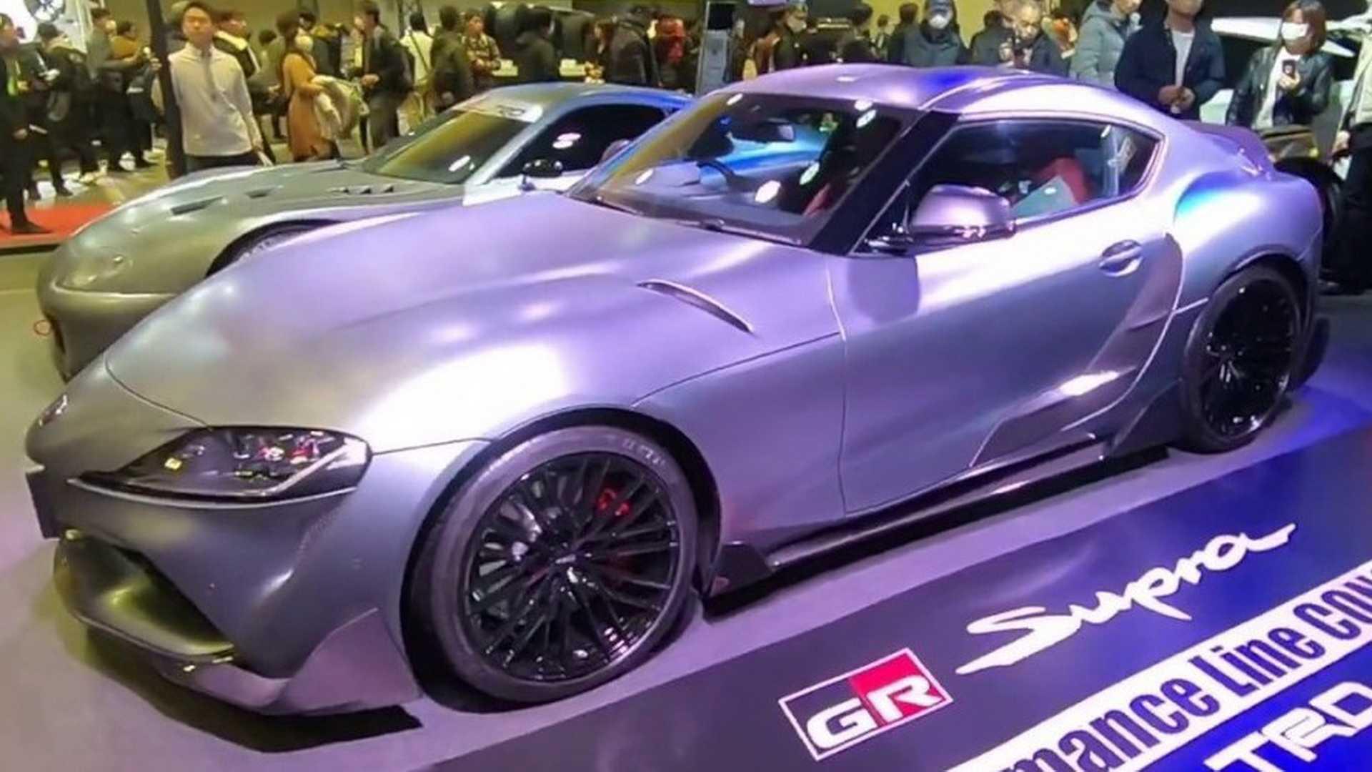 toyota supra trd concept shows its racy body on camera Toyota Supra 3000GT