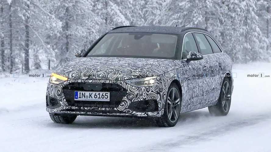 Flagra: Audi A4 Avant terá reestilização mais profunda em 2019