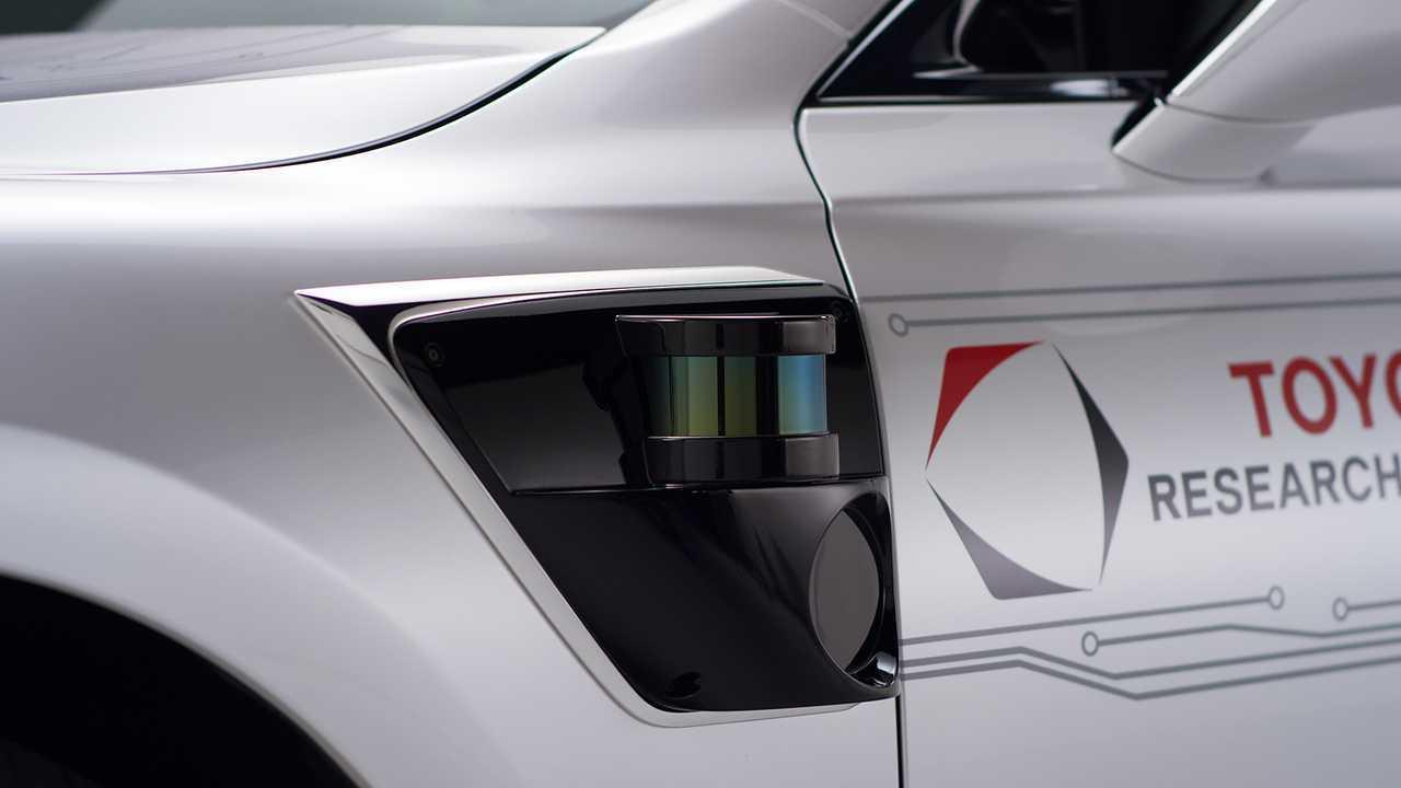 Toyota véhicule autonome P4