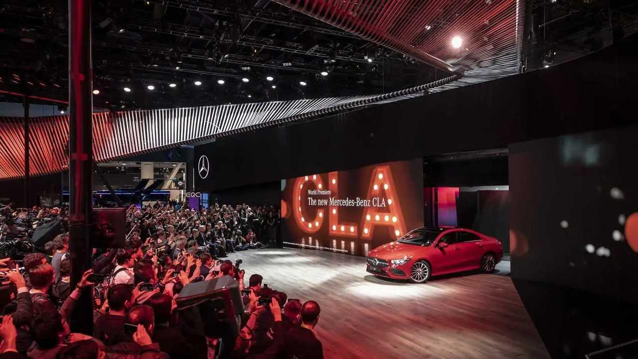 2020 Mercedes CLA at CES