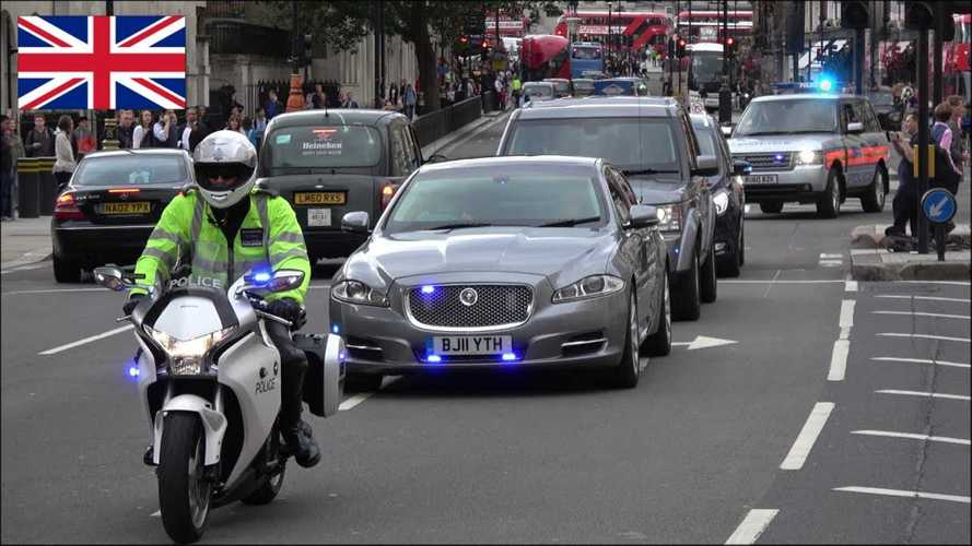 Watch London's Special Escort Group in Action