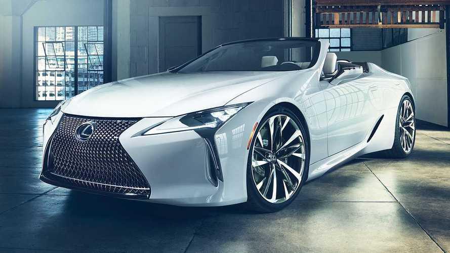 Lexus LC Cabrio als Designstudie auf der Detroit Motor Show 2019