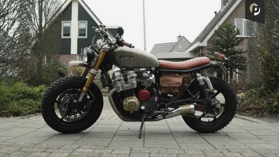 This Guy And His Dad Built Their Own Walking Dead Motorcycle