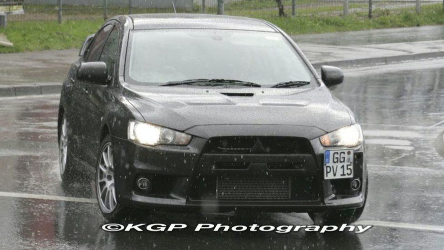 Mitsubishi EVO X Real World Photos