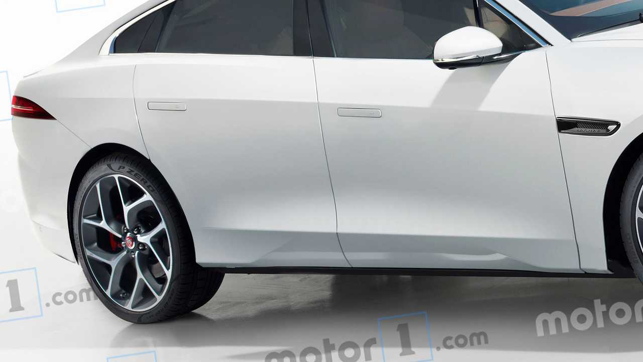 Render Jaguar XJ 2020