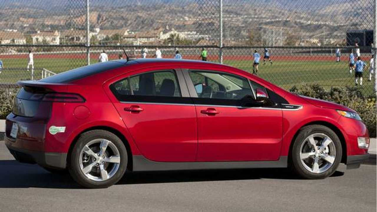 The Chevrolet Volt Became HOV Eligible Part Way Through Model Year 2012